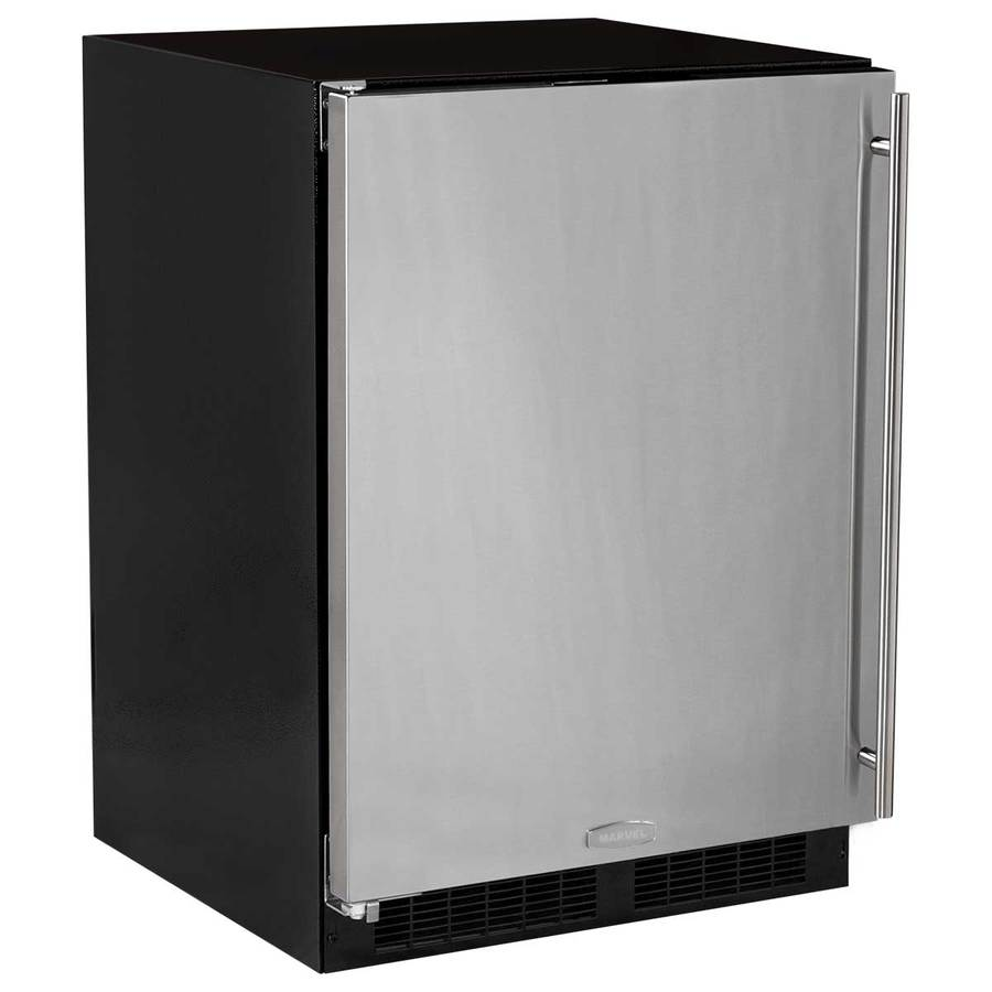 MARVEL 5.3-cu ft Built-In/Freestanding Compact Refrigerator (Stainless steel) ENERGY STAR