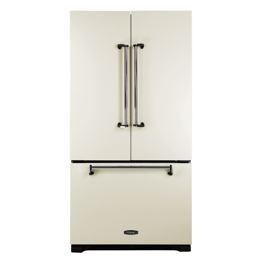 AGA Legacy 22.1-cu ft 3-Door Counter-Depth French Door Refrigerator with Single Ice Maker (Ivory)