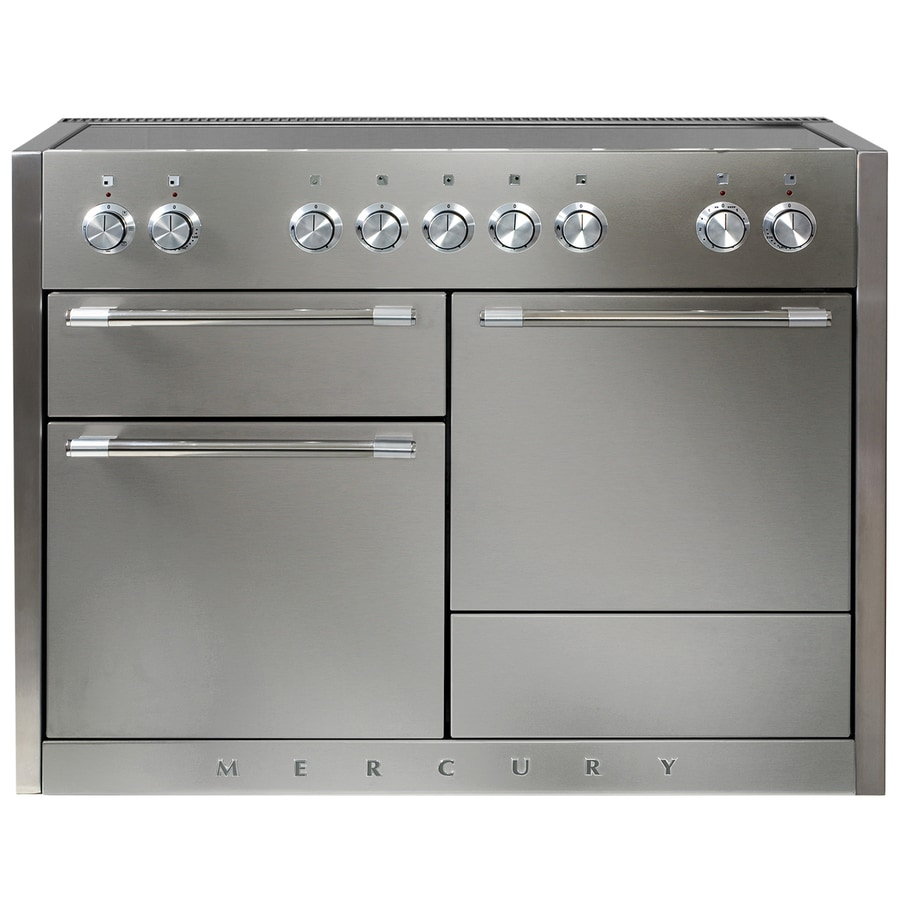 AGA Mercury 5-Element 6.1-cu ft Freestanding Induction Range (Stainless Steel) (Common: 48-in; Actual 47.5625-in)