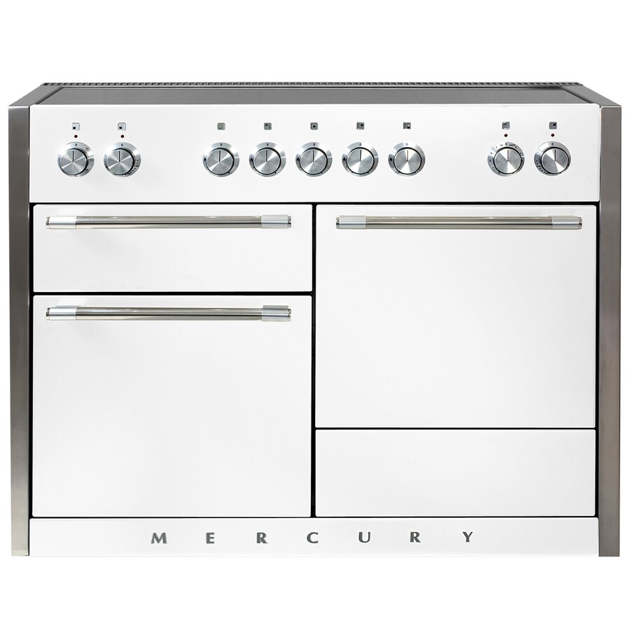 AGA Mercury 5-Element 6.1-cu ft Freestanding Induction Range (White) (Common: 48-in; Actual 47.5625-in)
