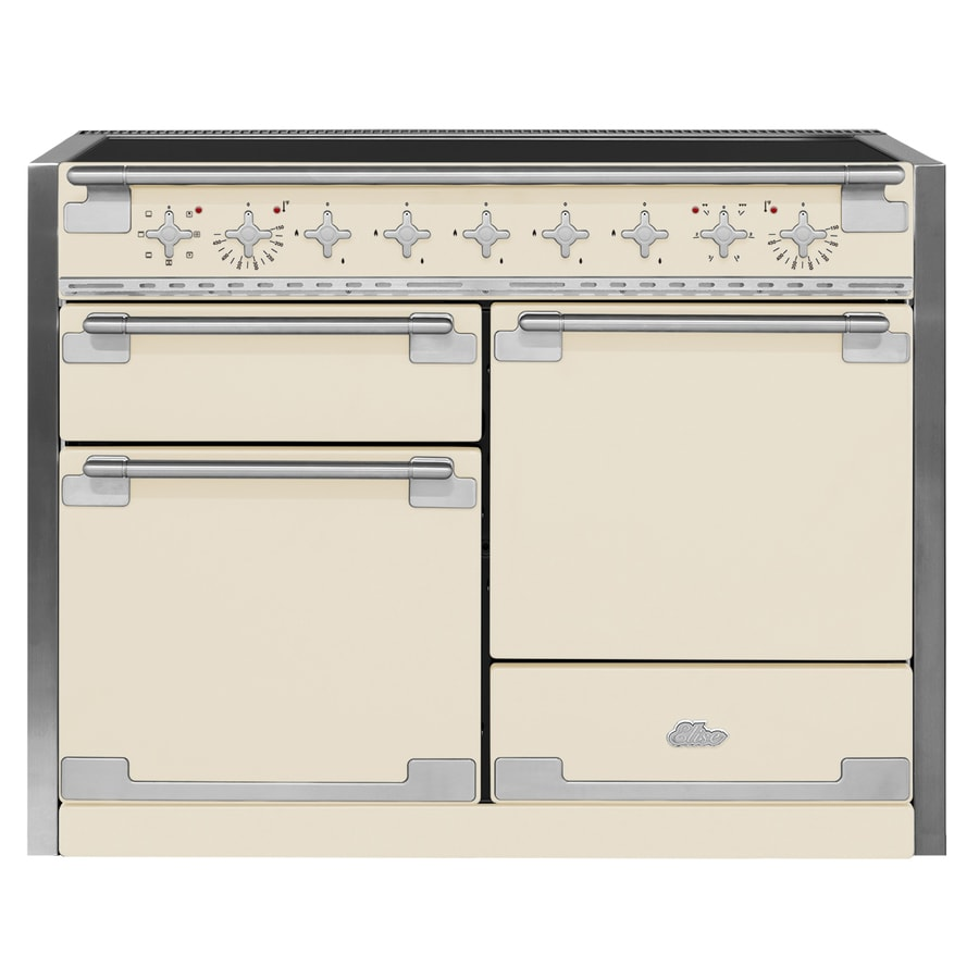 AGA Elise 5-Element 6.1-cu ft Freestanding Induction Range (Ivory) (Common: 48-in; Actual 47.5625-in)