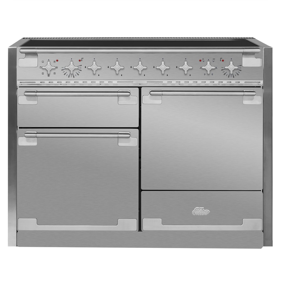 AGA Elise 5-Element 6.1-cu ft Freestanding Induction Range (Stainless Steel) (Common: 48-in; Actual 47.5625-in)