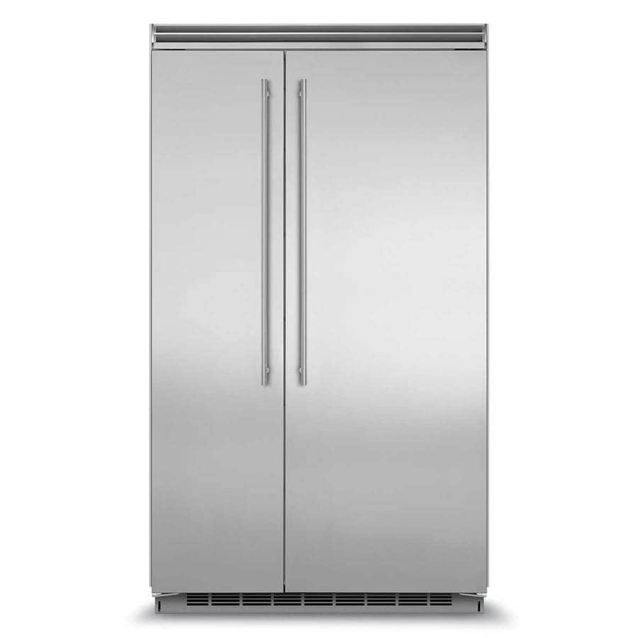 Marvel Professional 29 1 Cu Ft Built In Side By Refrigerator With