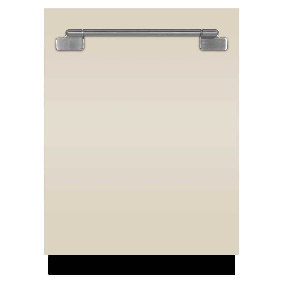 AGA Elise 45-Decibel Built-In Dishwasher (Ivory) (Common: 24-in; Actual: 23.75-in)