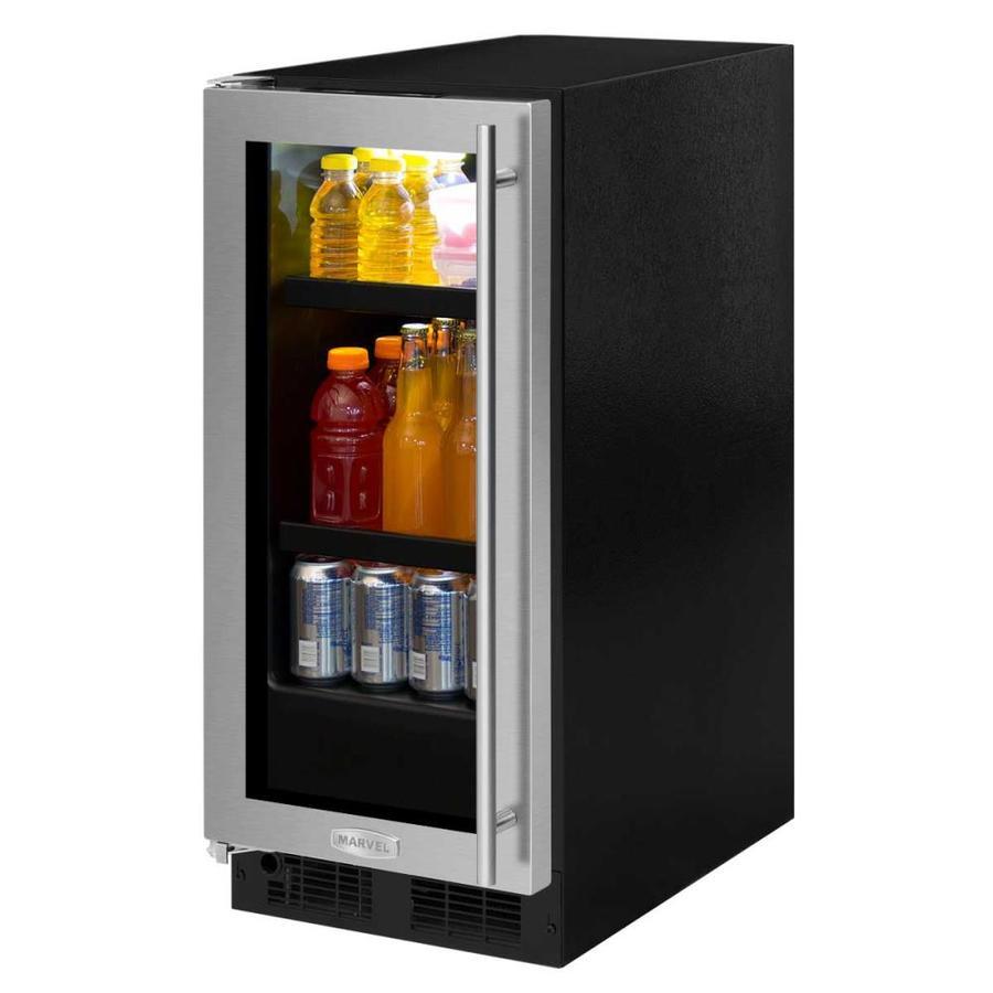 MARVEL 2.8-cu ft Stainless Steel Built-in Beverage Center