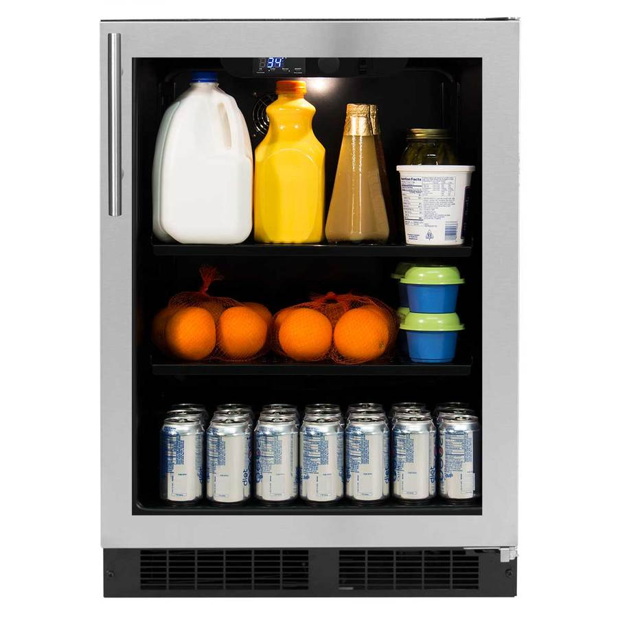 Northland 5.3-cu ft Stainless steel Built-In/Freestanding Beverage Center  sc 1 st  Loweu0027s & Shop Northland 5.3-cu ft Stainless steel Built-In/Freestanding ...