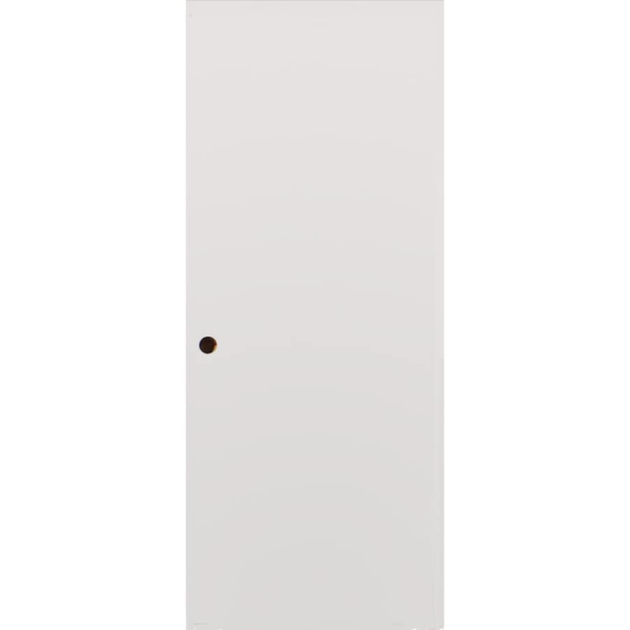 Milliken Millwork Primed Steel Surface Mount Security Door (Common: 36-in x 80-in; Actual: 38-in x 82.25-in)