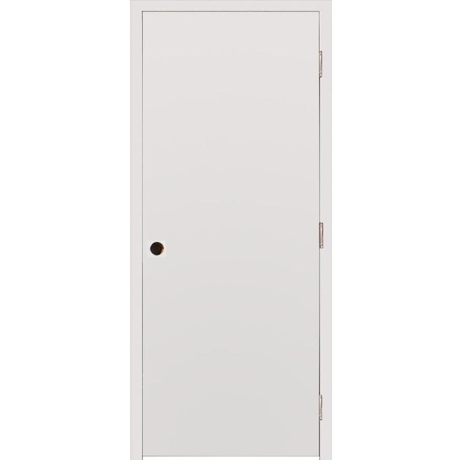 Milliken Millwork Primed Steel Surface Mount Security Door (Common: 32-in x 80-in; Actual: 34-in x 82.25-in)