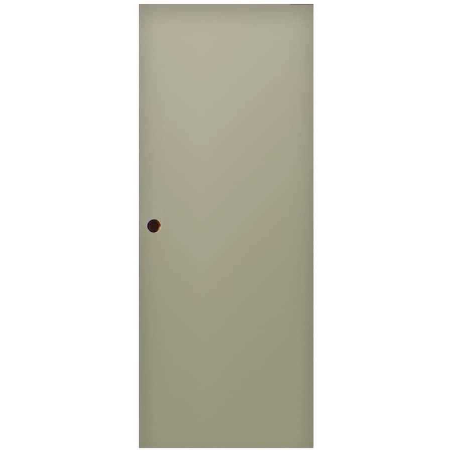 Shop Milliken Flush Slab Entry Door Common 36 In X 80 In Actual