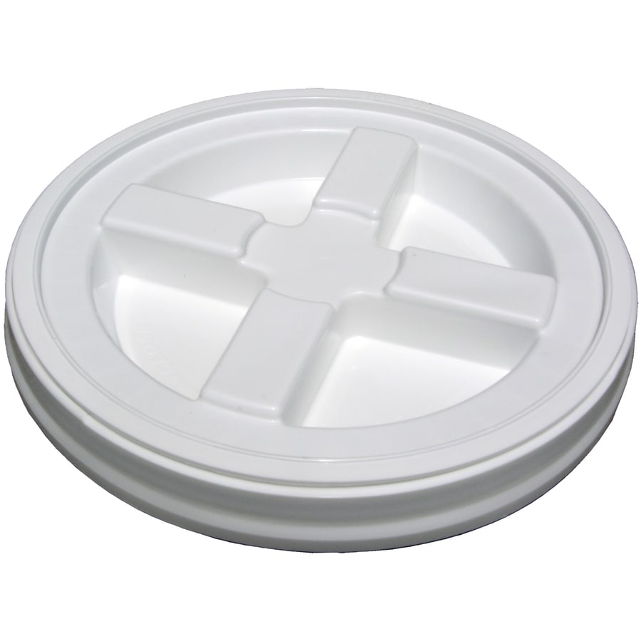 Encore Plastics 12-in White Plastic Bucket Lid