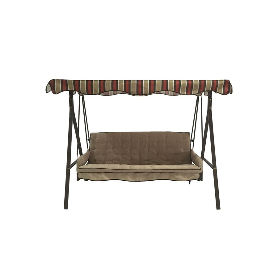 Shop Garden Treasures Porch Swing At Lowes Com