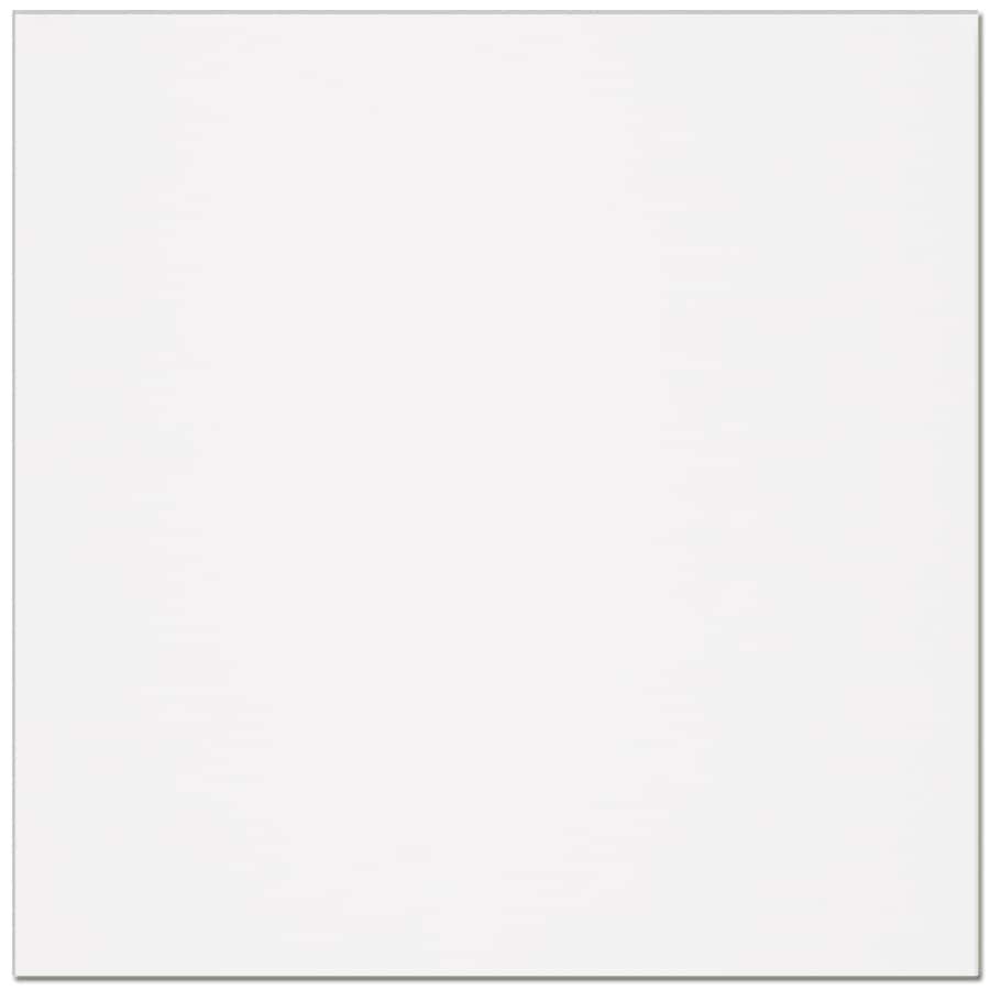 Interceramic Retro 11-Pack White Ceramic Floor Tile (Common: 12-in x 12-in; Actual: 11.81-in x 11.81-in)