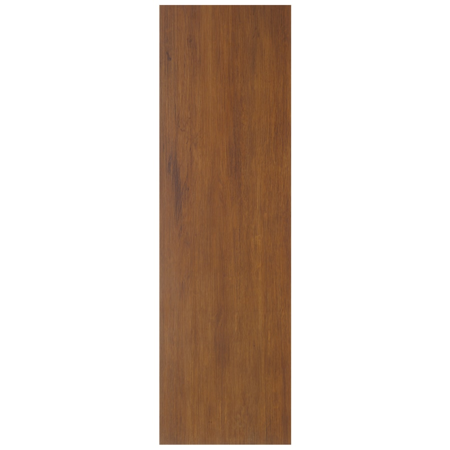 Interceramic Oakwood 9-Pack Bronze Wood Look Ceramic Floor Tile (Common: 7-in x 24-in; Actual: 7.48-in x 23.62-in)