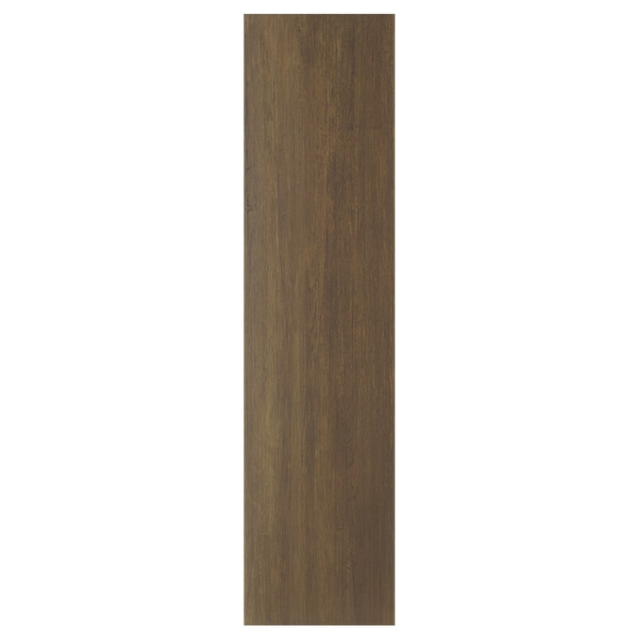Interceramic Oakwood 12-Pack Golden Wood Look Ceramic Floor Tile (Common: 5-in x 24-in; Actual: 5.51-in x 23.62-in)