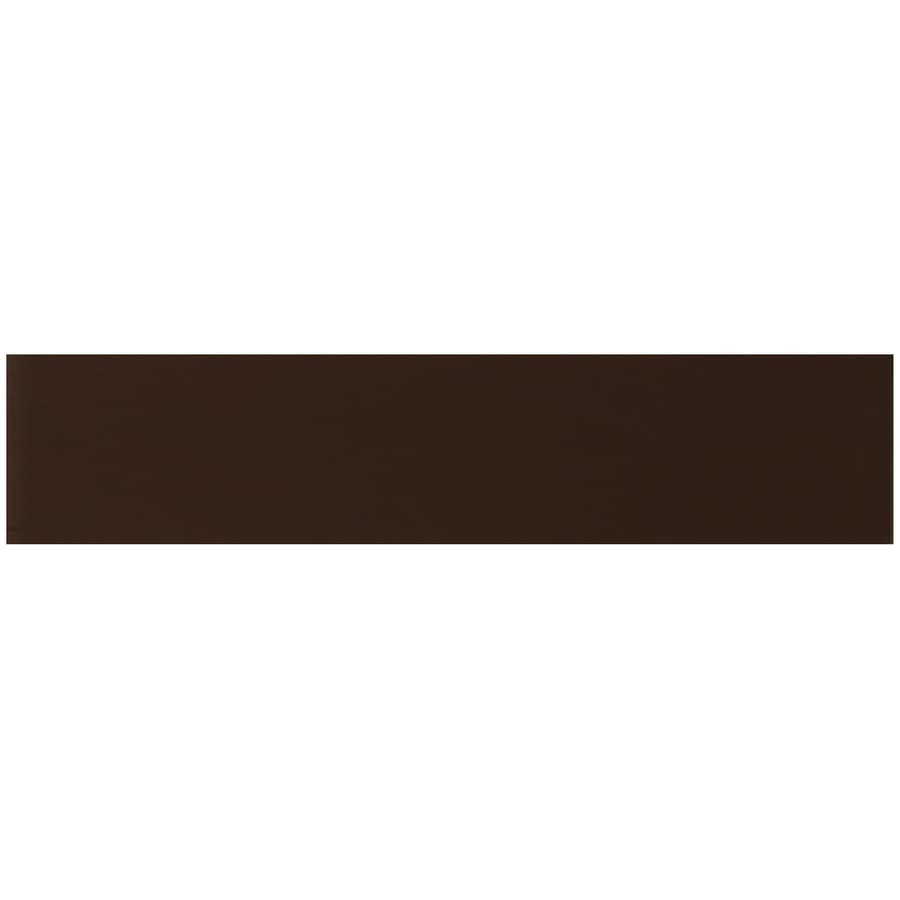 Interceramic 32-Pack Deep Brown Ceramic Wall Tiles (Common: 2-in x 8-in; Actual: 2.13-in x 8.54-in)