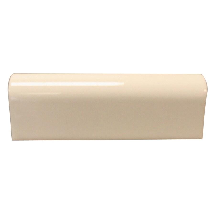 Interceramic Tender Tan Ceramic Mud Cap Tile (Common: 2-in x 6-in; Actual: 2-in x 5.98-in)
