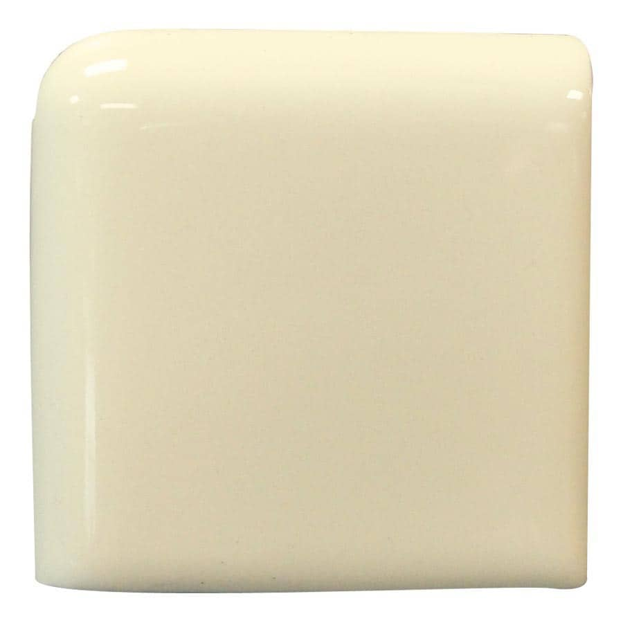 Interceramic Canvas Ceramic Bullnose Tile (Common: 4-in x 4-in; Actual: 4.24-in x 4.24-in)