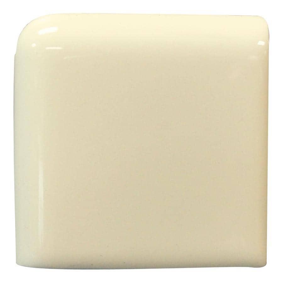 Interceramic Canvas Ceramic Bullnose Tile (Common: 4-in x 4-in; Actual: 4.24-in x 4.24-in)