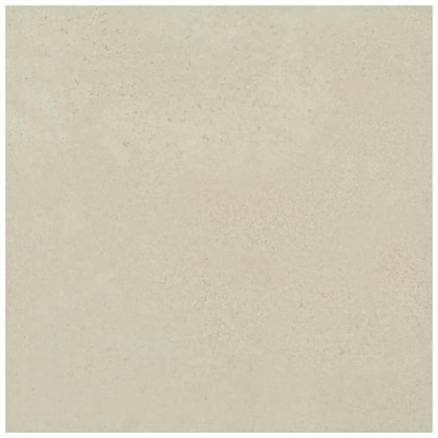 Interceramic Habitat 10-Pack Oyster Ceramic Floor Tile (Common: 16-in x 16-in; Actual: 15.74-in x 15.74-in)