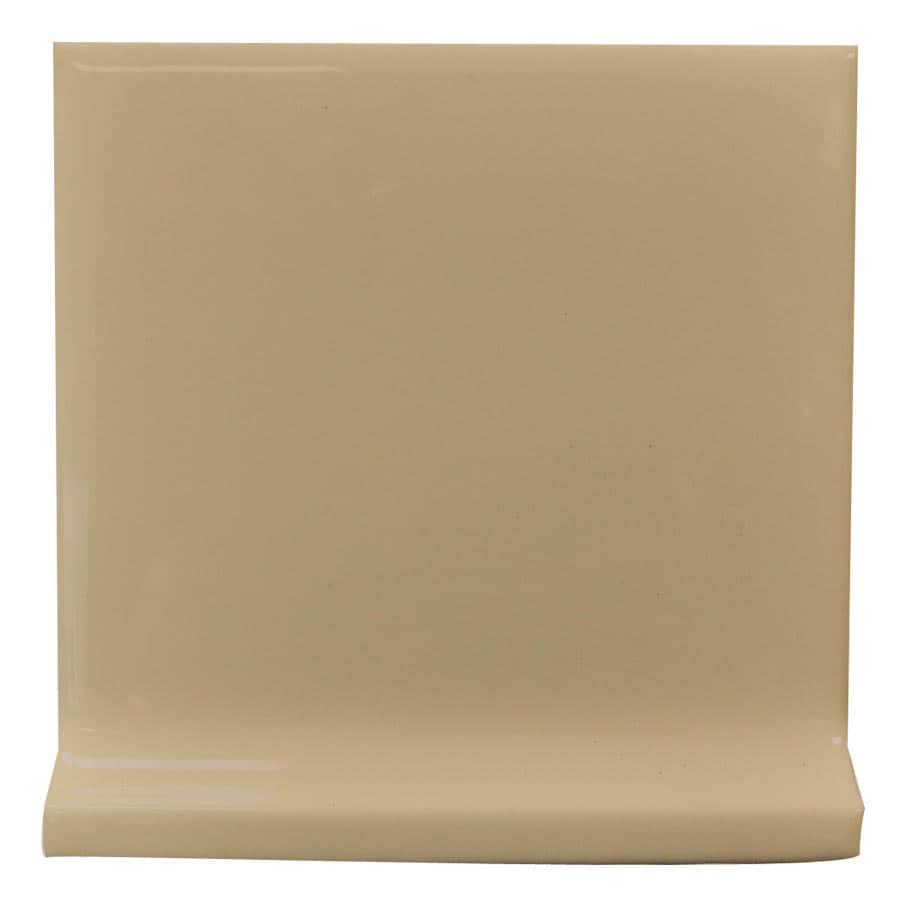 Interceramic Cocoa Ceramic Cove Base Tile (Common: 4-in x 4-in; Actual: 4.24-in x 4.24-in)