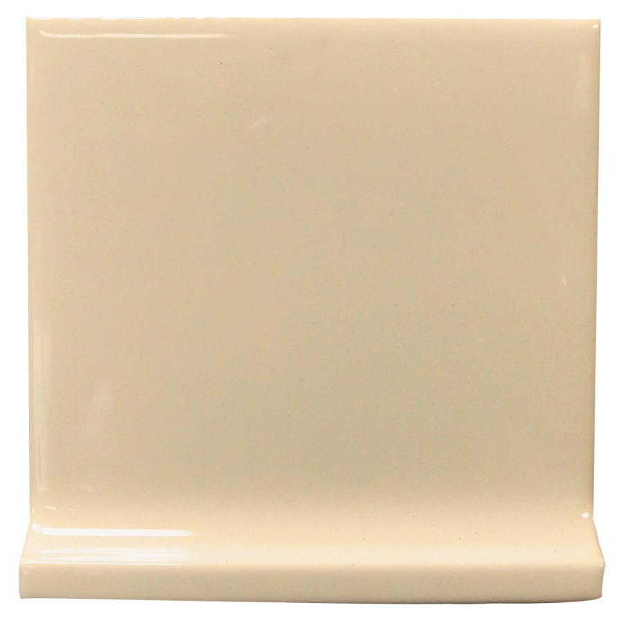 Interceramic Tender Tan Ceramic Cove Base Tile (Common: 4-in x 4-in; Actual: 4.24-in x 4.24-in)