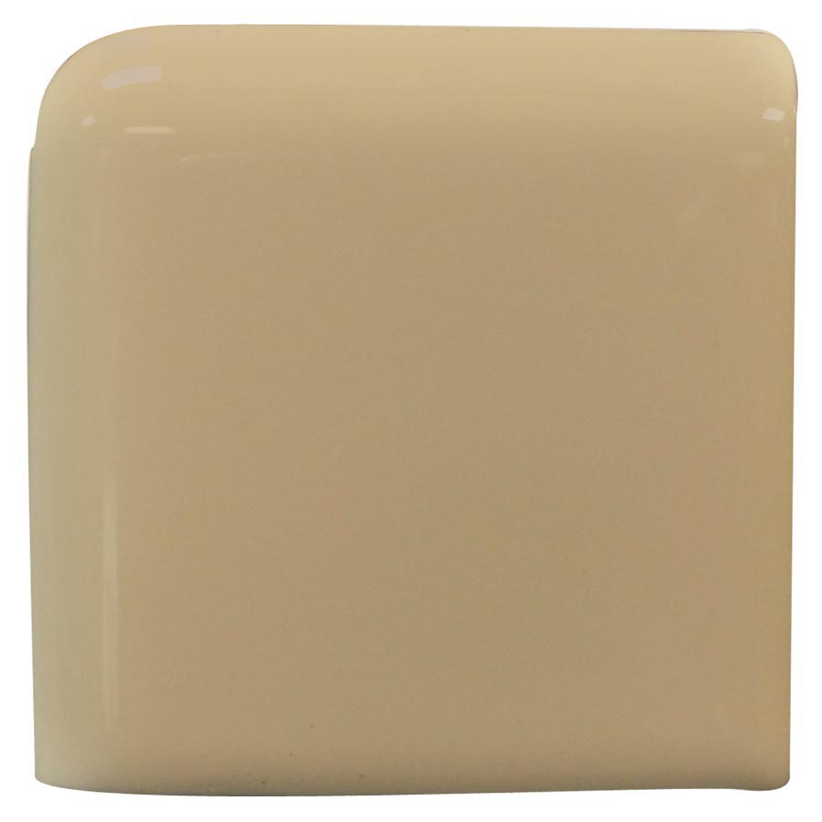 Interceramic Cocoa Ceramic Bullnose Tile (Common: 4-in x 4-in; Actual: 4.24-in x 4.24-in)