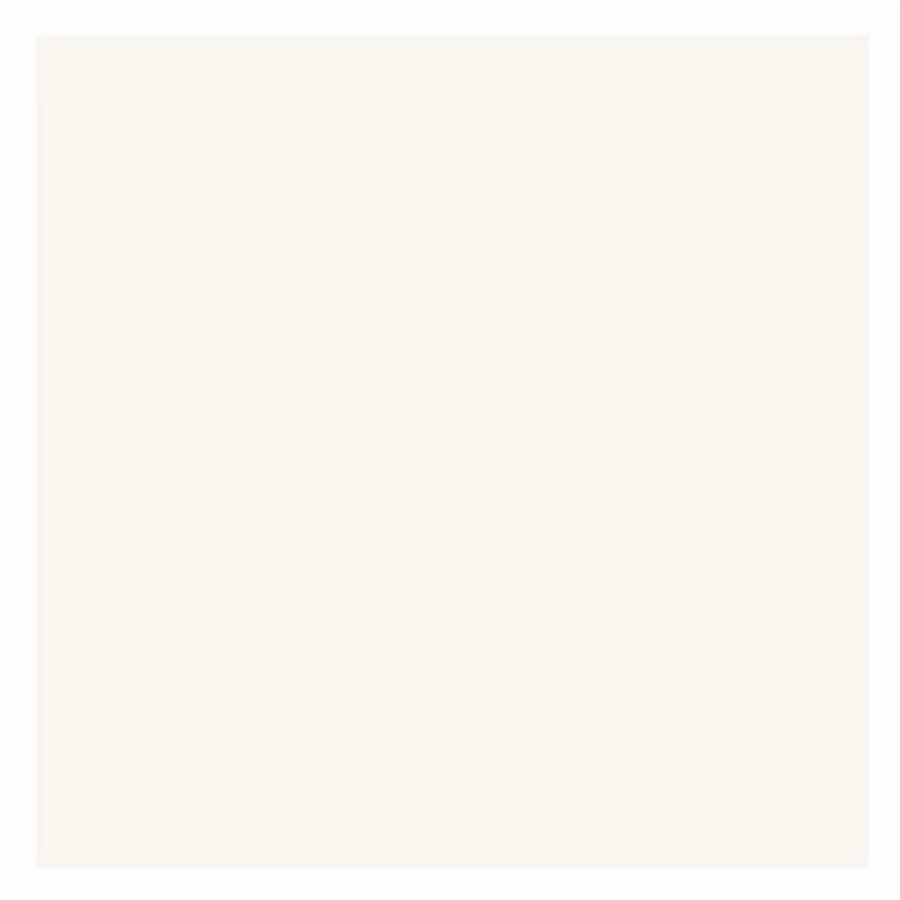 Interceramic 1 White Ceramic Wall Tile (Common: 4-in x 4-in; Actual: 4.24-in x 4.24-in)