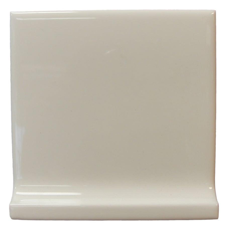 Interceramic Wall Tile Bone Ceramic Cove Base Tile (Common: 4-in x 4-in; Actual: 4.25-in x 4.25-in)