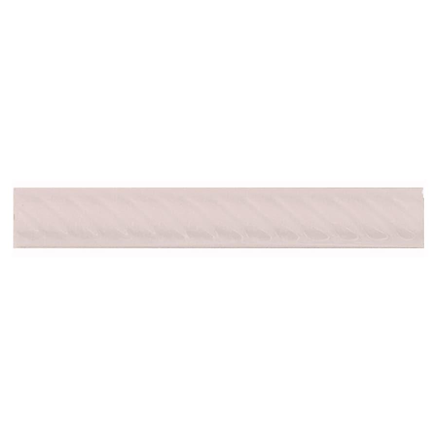 Interceramic Wall Tile Bone Ceramic Pencil Liner Tile (Common: 1-1/2-in x 8-in; Actual: 1.17-in x 7.83-in)