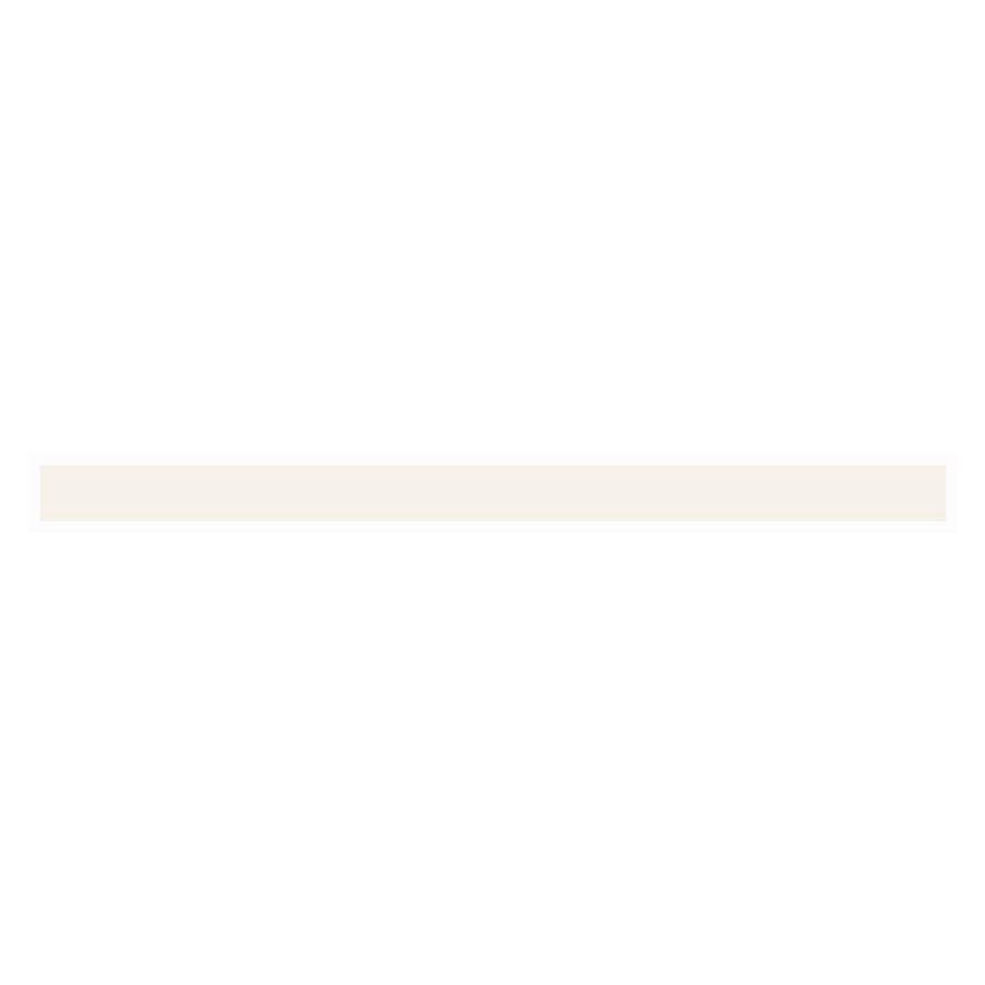 Interceramic Wall Tile Bone Ceramic Pencil Liner Tile (Common: 1/2-in x 8-in; Actual: 0.48-in x 7.85-in)