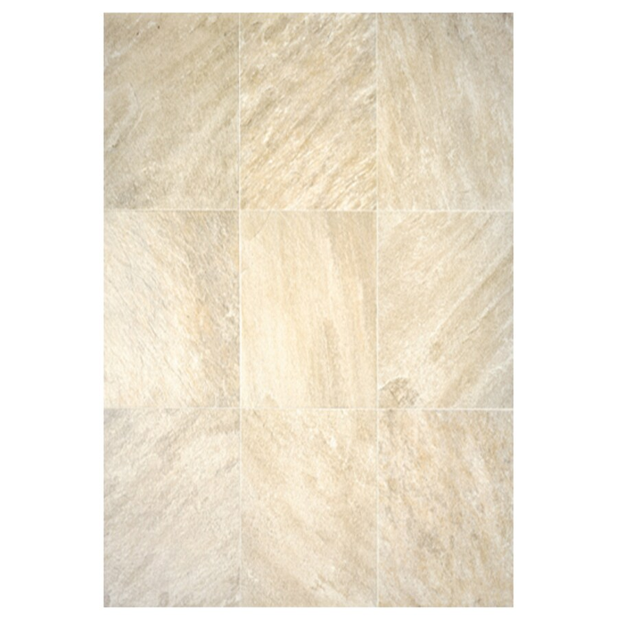 Shop interceramic imperial quartz 6 pack sand ceramic floor tile interceramic imperial quartz 6 pack sand ceramic floor tile common 16 in dailygadgetfo Images