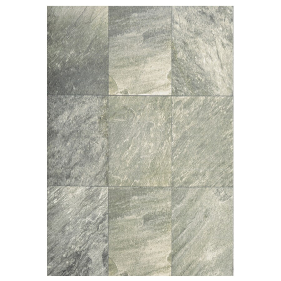 Shop Interceramic Imperial Quartz 6 Pack Silver Ceramic Floor Tile