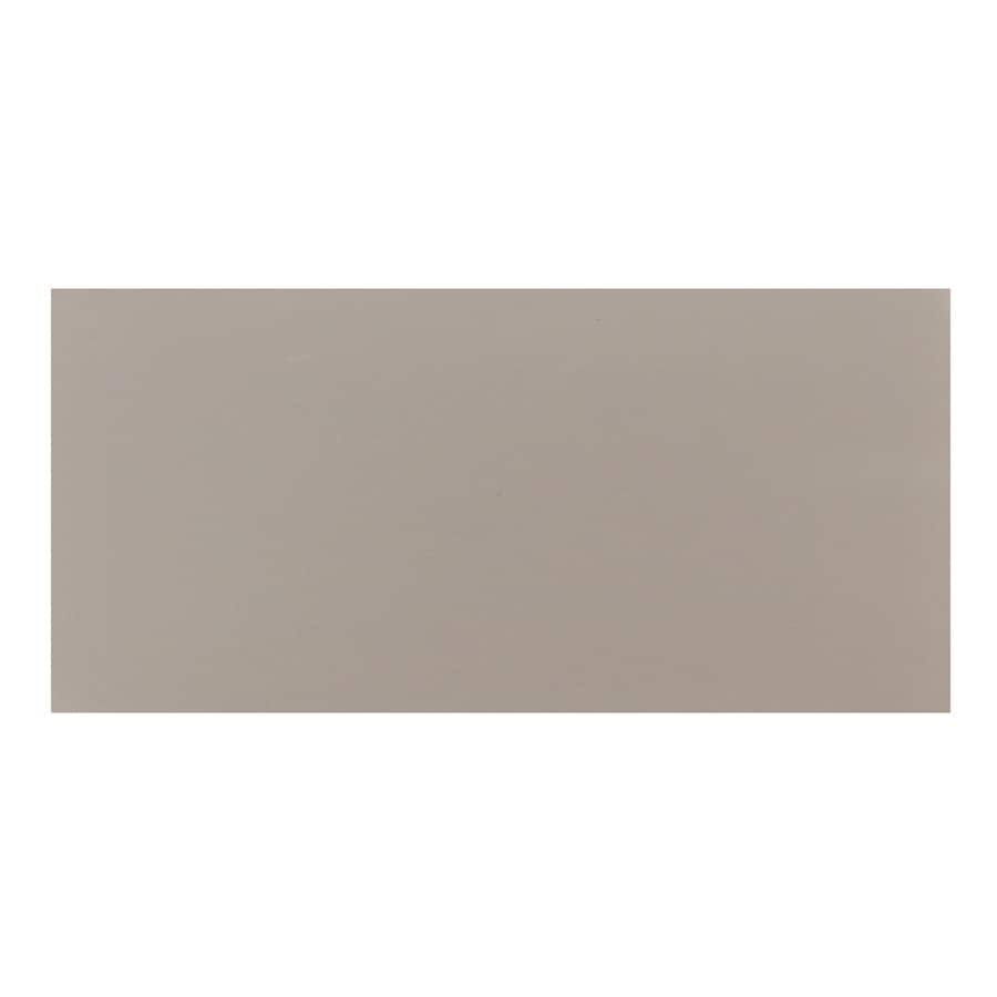 Interceramic 32-Pack Dark Gray Ceramic Wall Tile (Common: 4-in x 8-in; Actual: 4.24-in x 8.54-in)