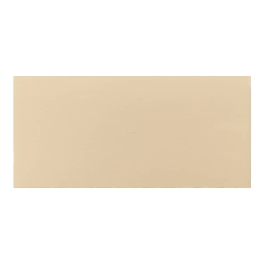 Interceramic 32-Pack Tender Tan Ceramic Wall Tile (Common: 4-in x 8-in; Actual: 4.24-in x 8.54-in)