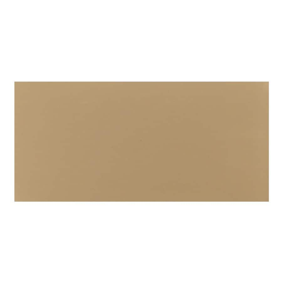 Interceramic Wall Tile 32-Pack Cocoa Ceramic Wall Tile (Common: 4-in x 8-in; Actual: 4.24-in x 8.54-in)