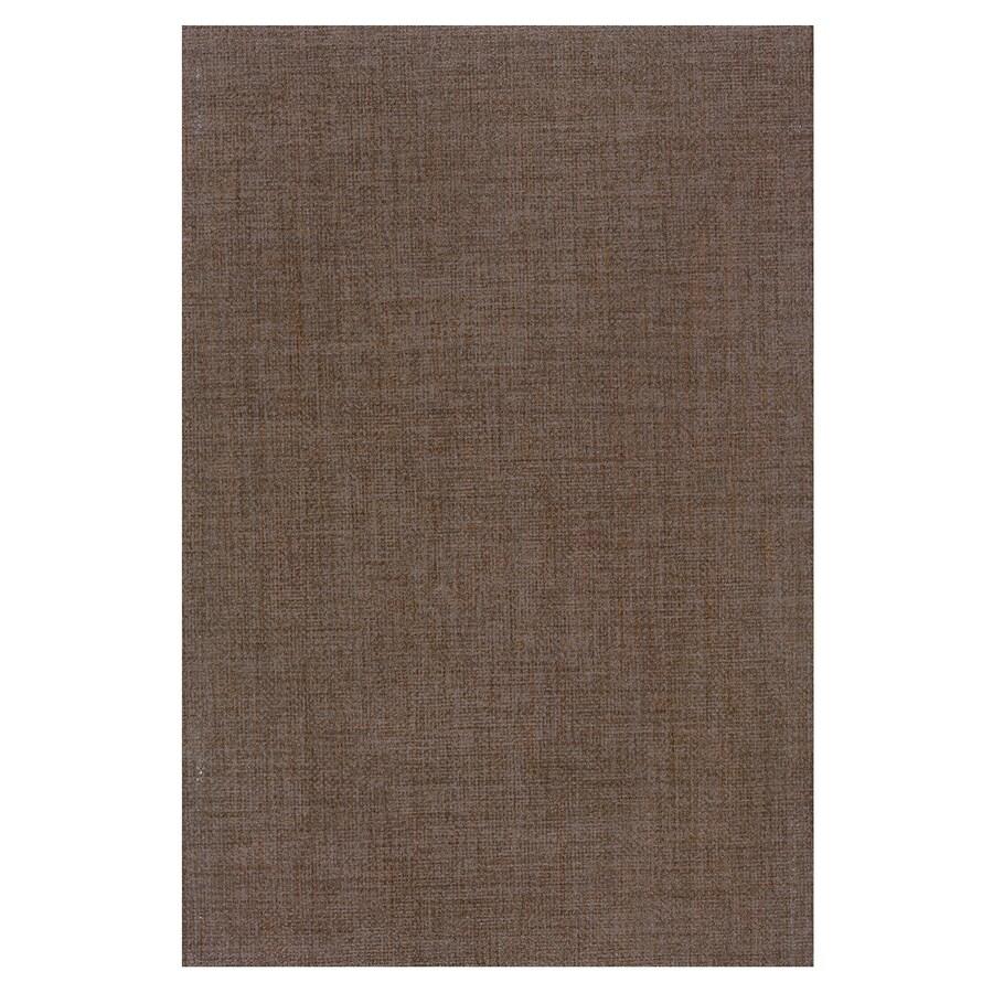 Interceramic Tessuto 17-Pack Cutch Brown Ceramic Wall Tile (Common: 8-in x 12-in; Actual: 7.87-in x 11.81-in)
