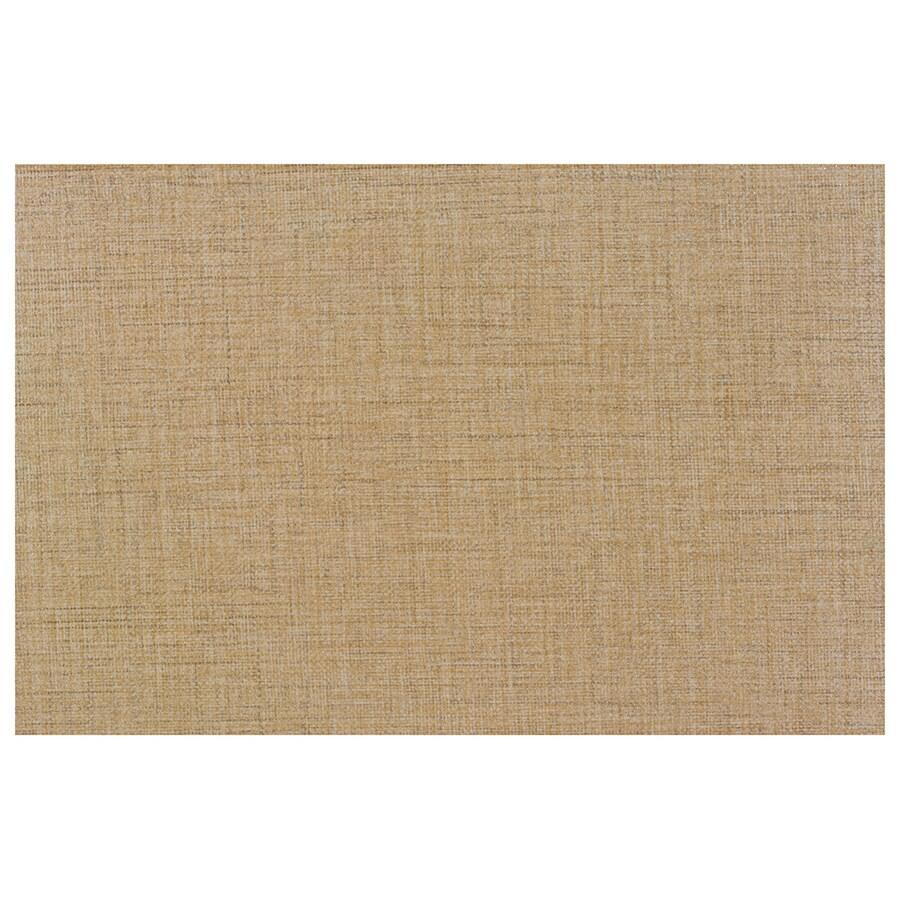 Interceramic Tessuto 17-Pack Tan Beige Ceramic Wall Tile (Common: 8-in x 12-in; Actual: 7.87-in x 11.81-in)