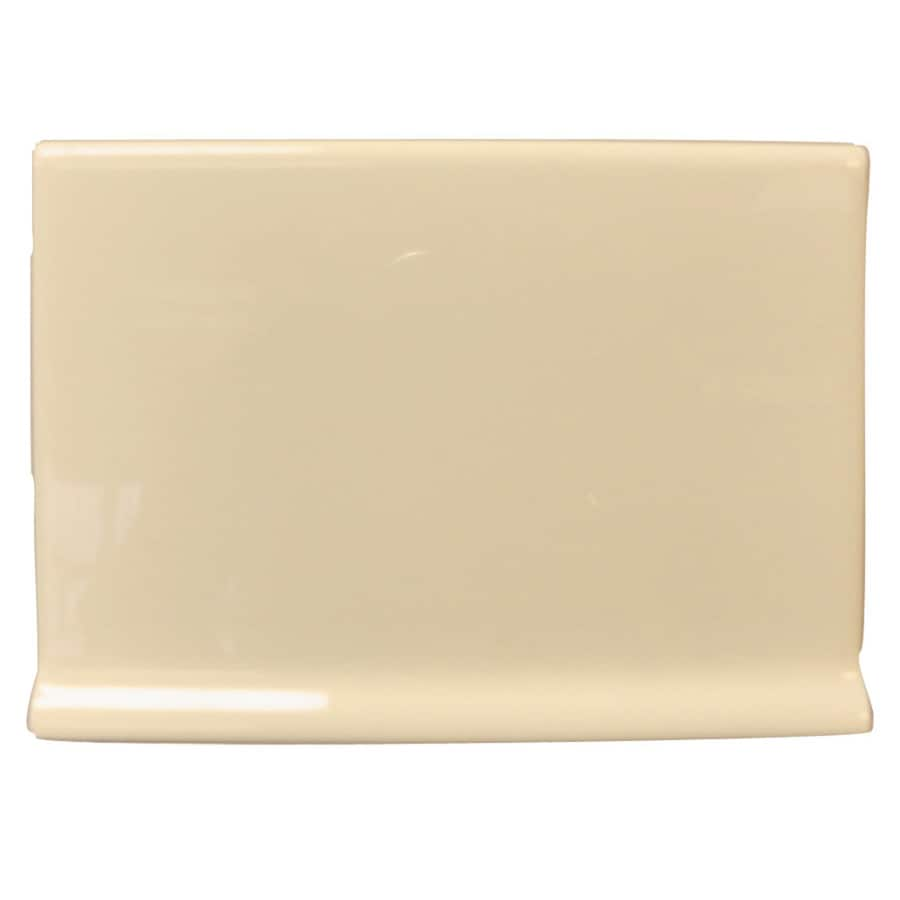 Interceramic Tender Tan Ceramic Cove Base Tile (Common: 4-in x 6-in; Actual: 4.25-in x 6-in)