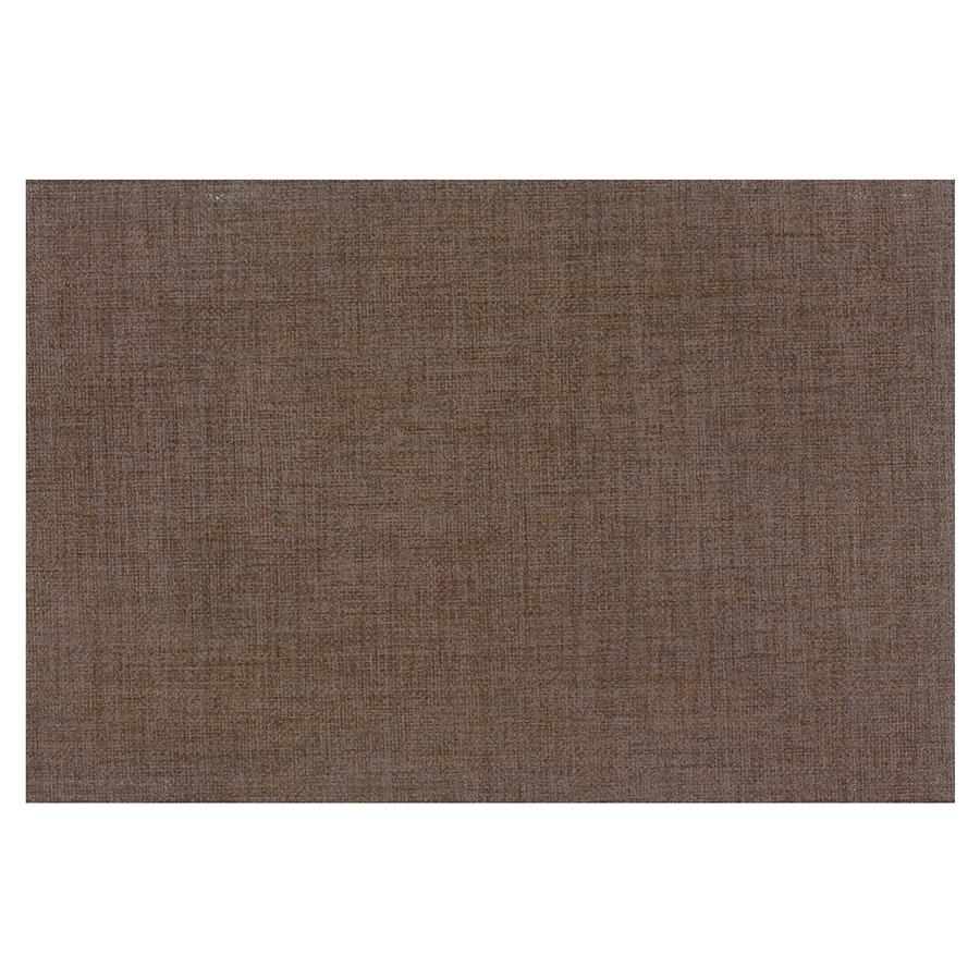 Interceramic Tessuto 32-Pack Cutch Brown Ceramic Wall Tile (Common: 4-in x 8-in; Actual: 4.24-in x 8.54-in)