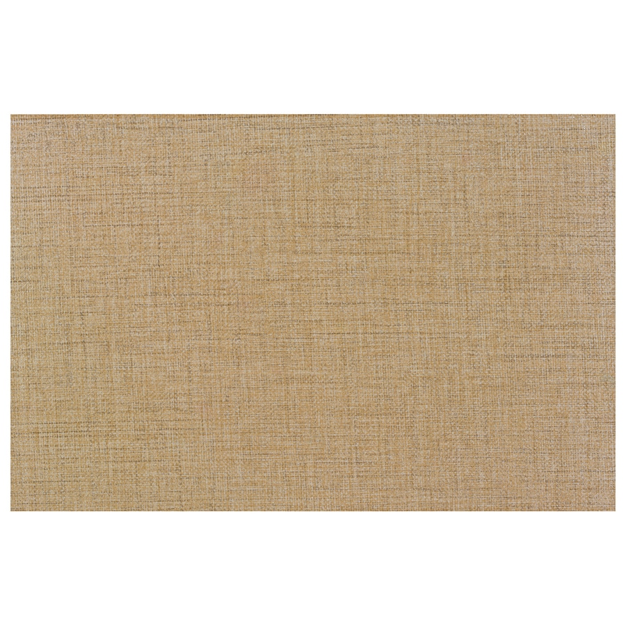 Interceramic Tessuto 32-Pack Tan Beige Ceramic Wall Tile (Common: 4-in x 8-in; Actual: 4.24-in x 8.54-in)