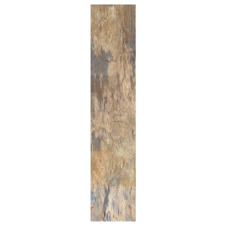 Interceramic Planks 1.0 12-Pack Autumn Ceramic Floor Tile (Common: 5-in x 24-in; Actual: 4.92-in x 23.6-in)