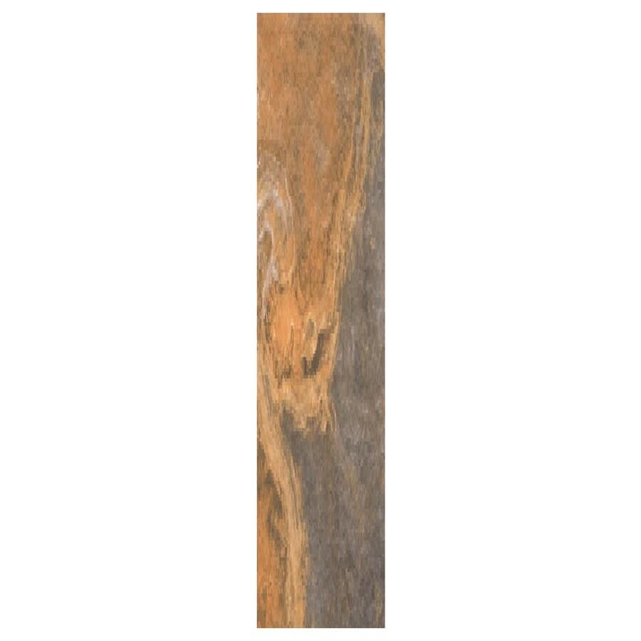 Interceramic Planks 1.0 12-Pack Multicolor Ceramic Floor Tile (Common: 5-in x 24-in; Actual: 4.92-in x 23.6-in)