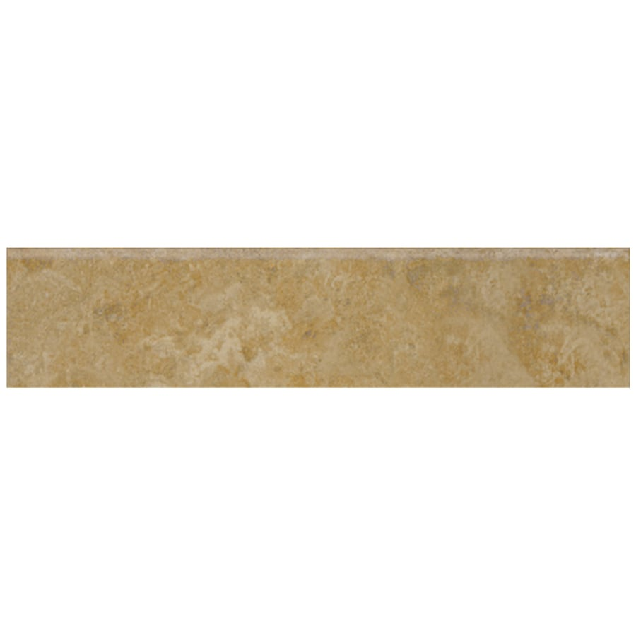 Shop Style Selections Pinot Beige Ceramic Bullnose Tile