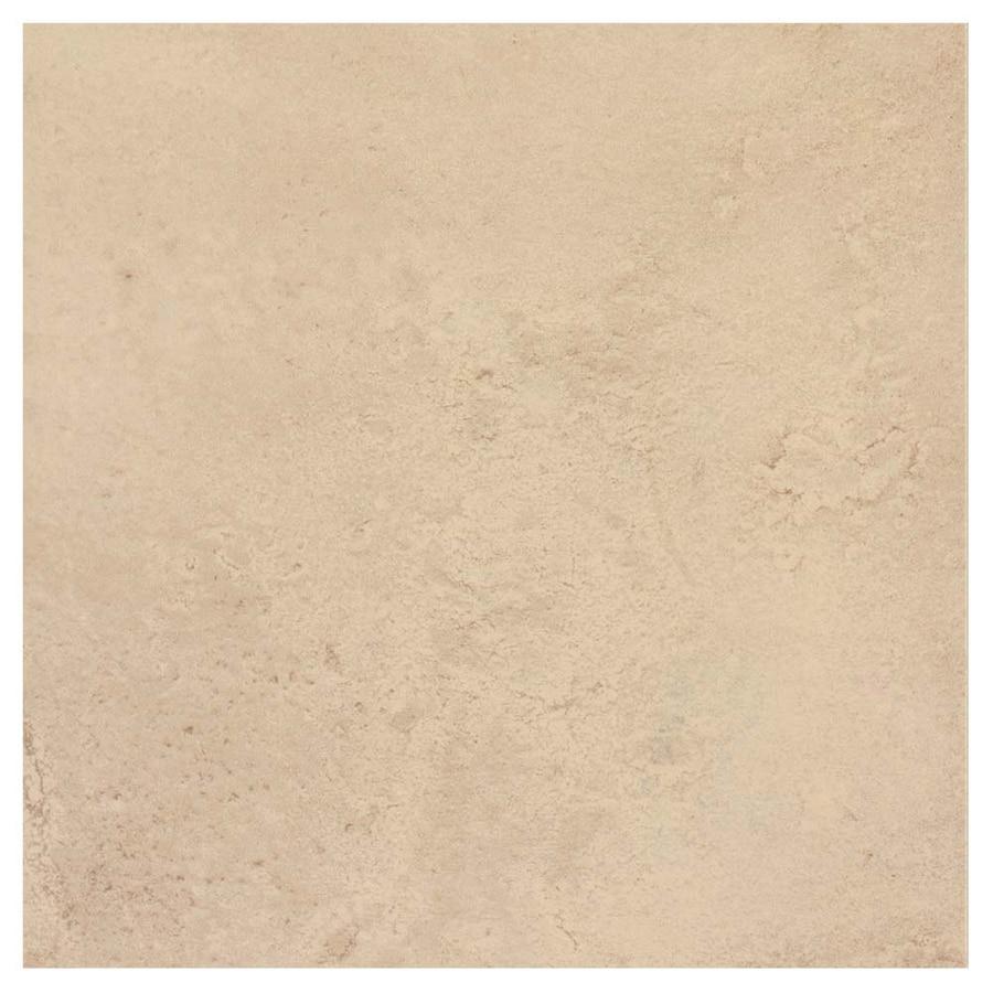 Interceramic Murcia 14-Pack Arena Porcelain Floor Tile (Common: 13-in x 13-in; Actual: 13.19-in x 13.19-in)
