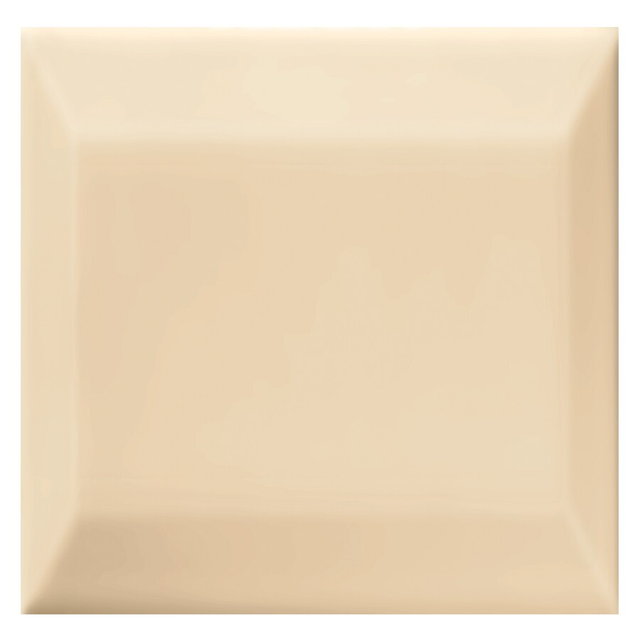 Interceramic Essentials Bone Ceramic Listello Tile (Common: 3-in x 3-in; Actual: 2.95-in x 2.95-in)