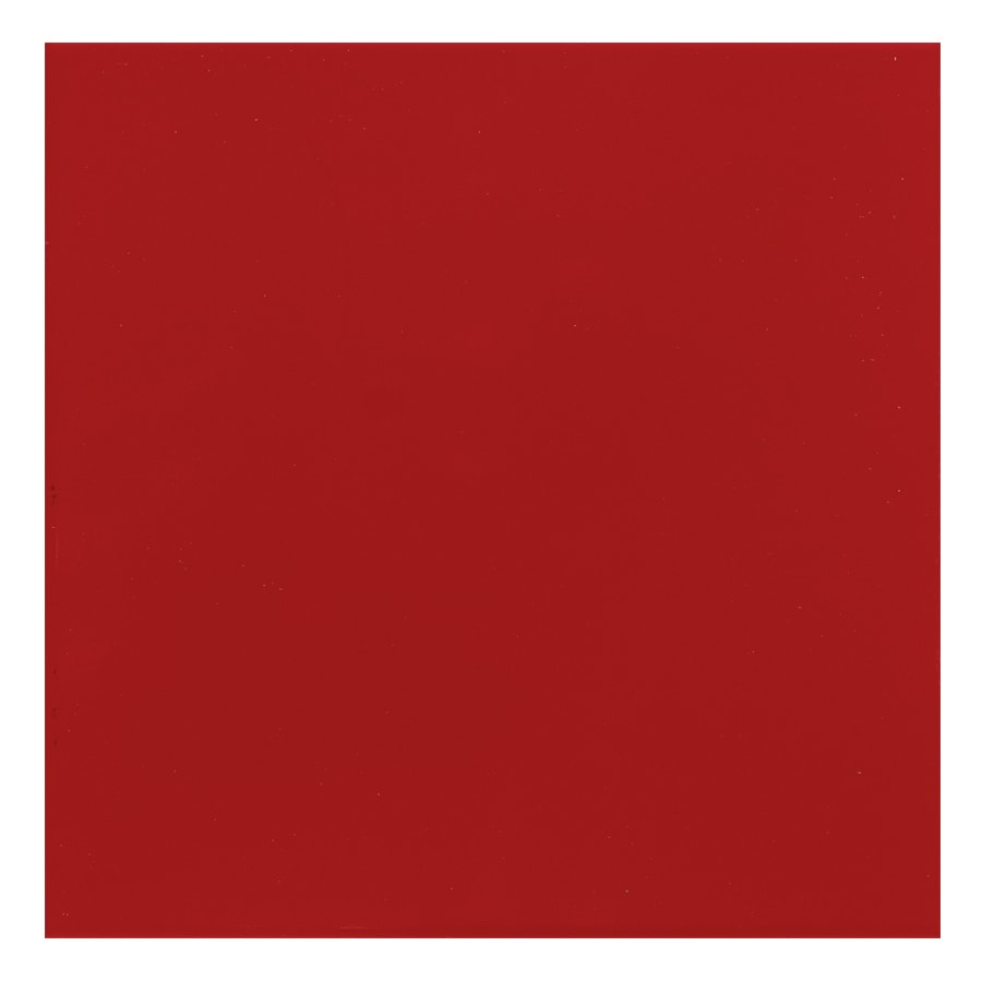 Interceramic Lipstick 60-Pack Bombshell Red Ceramic Wall Tile (Common: 6-in x 6-in; Actual: 6-in x 6-in)