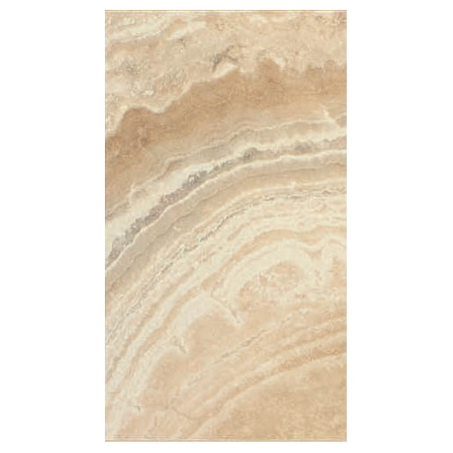 Interceramic La Travonya 8-Pack Natural Porcelain Floor Tile (Common: 10-in x 20-in; Actual: 9.63-in x 19.31-in)