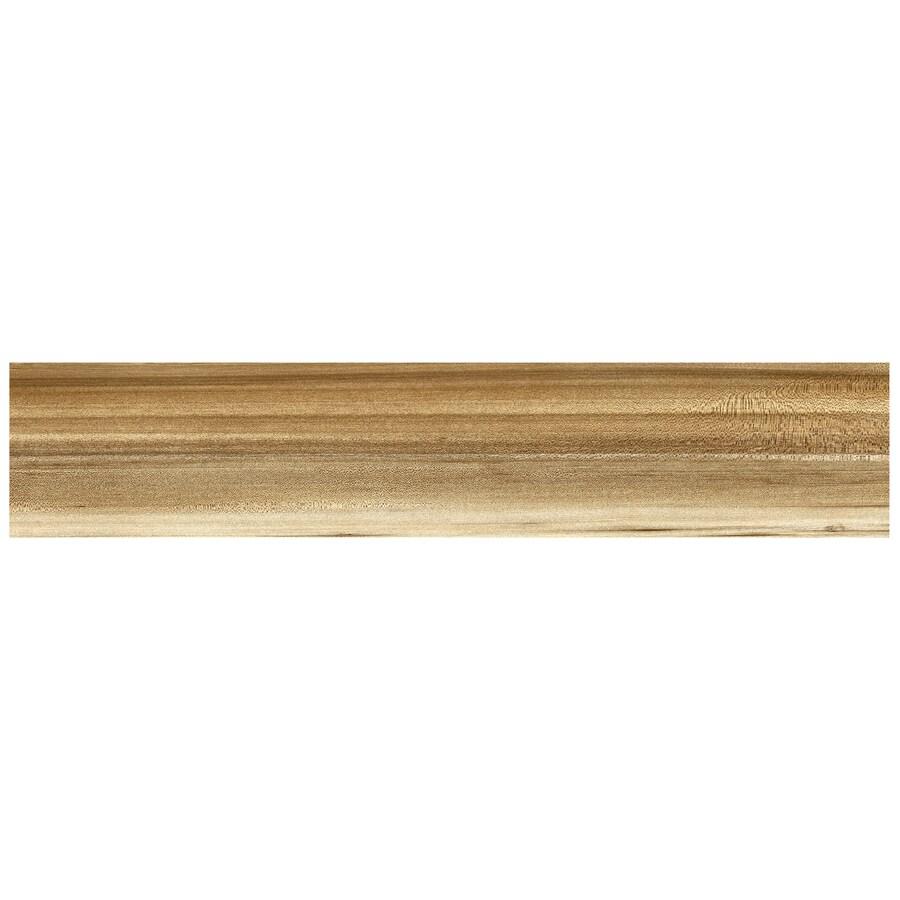 Interceramic Trio Legno 11-Pack Caramel Wood Look Porcelain Floor Tile (Common: 6-in x 24-in; Actual: 5.9-in x 23.62-in)