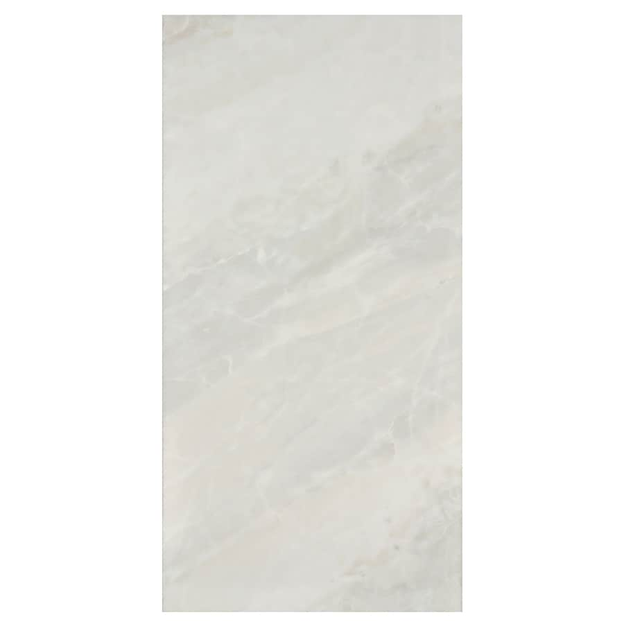 Interceramic Vesubio 12-Pack Greco Ivory Ceramic Wall Tile (Common: 10-in x 20-in; Actual: 9.84-in x 19.66-in)