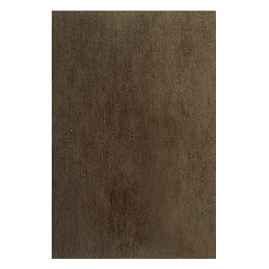 Interceramic Aquarelle 12-Pack Sienna Brown Ceramic Wall Tile (Common: 10-in x 20-in; Actual: 9.84-in x 19.66-in)